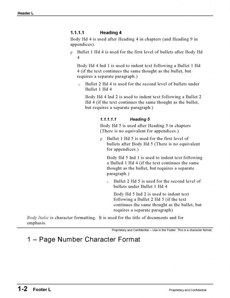 BP-Style Sheet