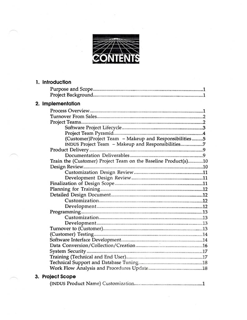 Project Manager Project Plan Template