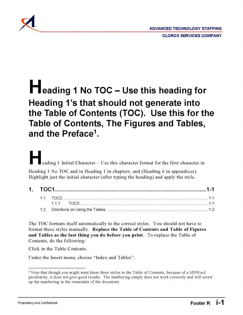 Proposal-Stylesheet ATS Word 7