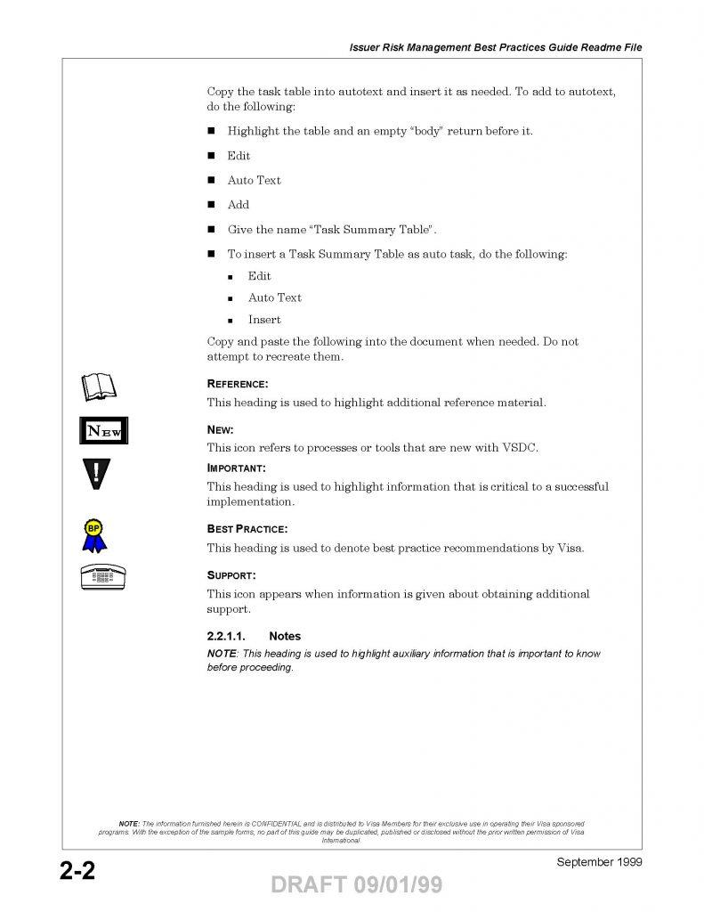 Visa Style Guide-Book Design
